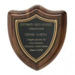 Classic Shield Plaque Employee Awards