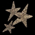 Star Cluster Bronze Accent Employee Awards
