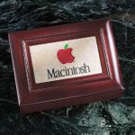Wood Box with Stonecast Inlay Executive Gift Awards