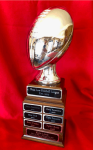 Silver Fantasy Football Trophy Fantasy Awards