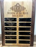 Texas Roadhouse Plaque Plaques